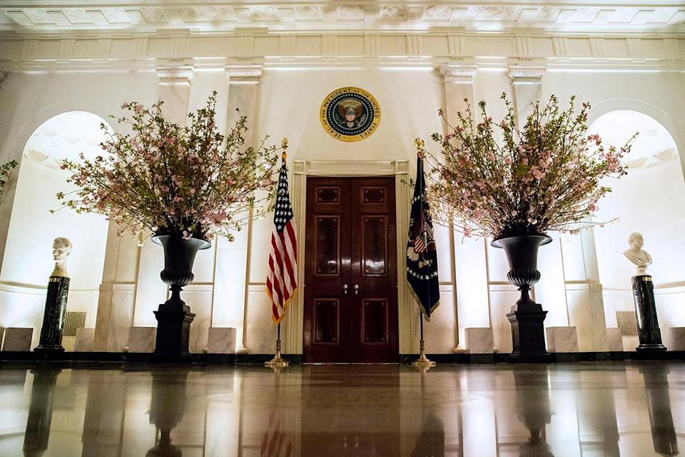 <p>Boasting 55,000-square-feet of living space, the White House has 132 rooms, 35 bathrooms, 412 doors, 147 windows, 28 fireplaces, eight staircases and three elevators, all spread across six floors.</p>