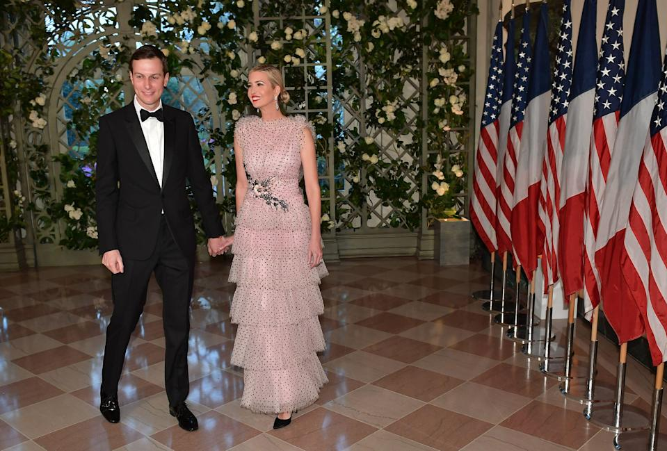 Ivanka Trump shares birthday wishes for husband Jared Kushner. (Photo: Getty Images)