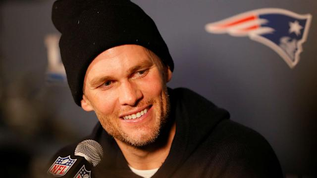 Tom Brady and Bill Belichick discussed the New England Patriots' Super Bowl meeting with the Los Angeles Rams.