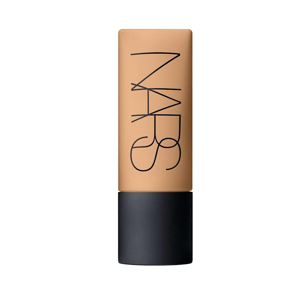 "<p>The Nars Soft Matte Complete Foundation is a great pick if you want a matte finish but sheerer coverage. ""This hydrating formula has a way of just appearing like real skin, just better,"" says Tommy. We believe that the hydrating <a href=""https://www.allure.com/story/what-is-hyaluronic-acid-skin-care?mbid=synd_yahoo_rss"" rel=""nofollow noopener"" target=""_blank"" data-ylk=""slk:hyaluronic acid"" class=""link rapid-noclick-resp"">hyaluronic acid</a> in its formula explains why. Just one drop is enough to cover your entire face with whatever application tool your heart desires. </p> <p><strong>$40</strong> (<a href=""https://fave.co/36XOgb9"" rel=""nofollow noopener"" target=""_blank"" data-ylk=""slk:Shop Now"" class=""link rapid-noclick-resp"">Shop Now</a>) </p>"