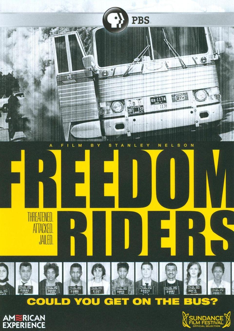 """<p><a class=""""link rapid-noclick-resp"""" href=""""https://www.pbs.org/wgbh/americanexperience/films/freedomriders/"""" rel=""""nofollow noopener"""" target=""""_blank"""" data-ylk=""""slk:STREAM NOW"""">STREAM NOW</a></p><p> Based on historian Raymond Arsenault's book of the same name, this documentary tells the story of the civil rights activists known as the Freedom Riders, who launched a peaceful protest against racial segregation on buses and trains in the 1960s.</p>"""