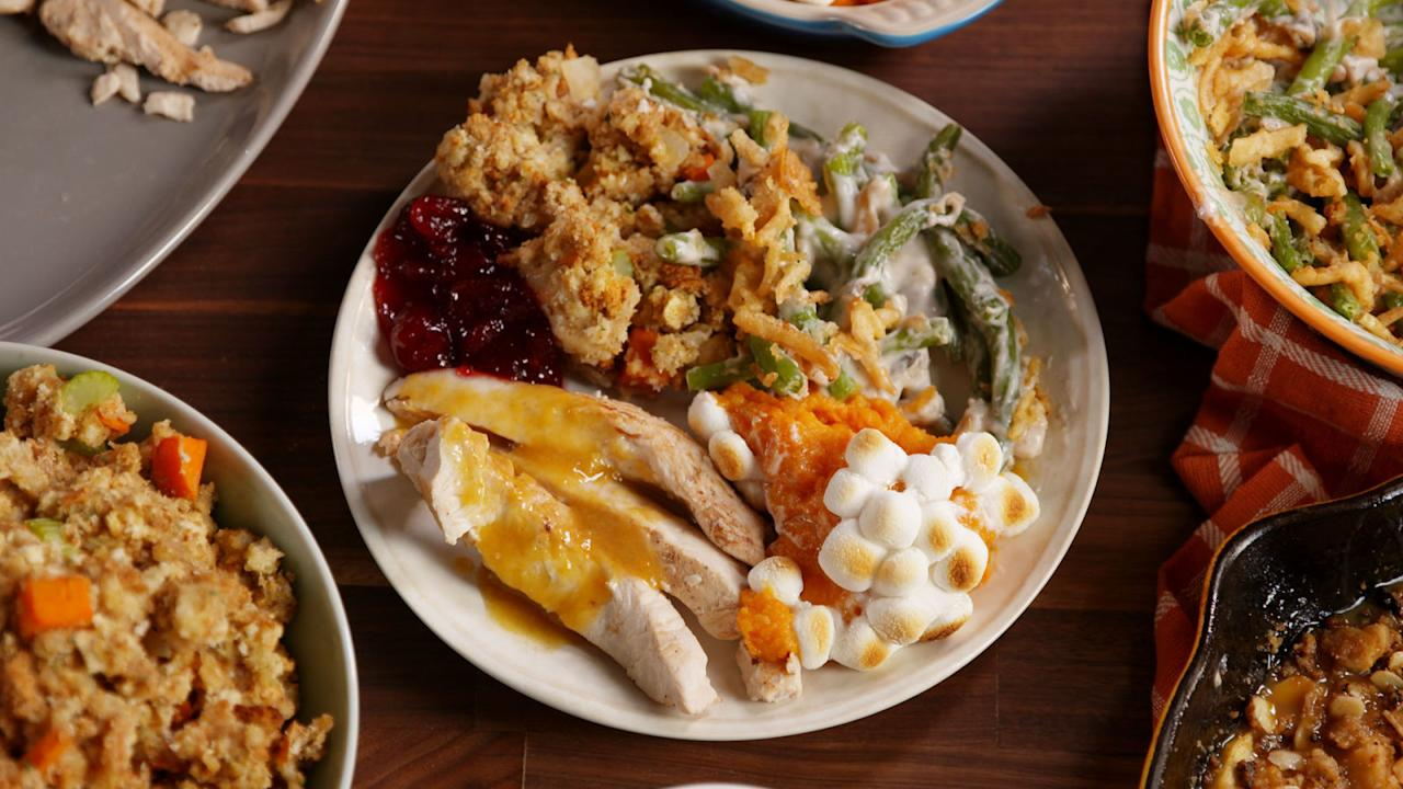 """<p>When you wake up from your post-Thanksgiving food coma, chances are you'll be hungry for more. Before you throw together that <a rel=""""nofollow"""" href=""""http://www.delish.com/holiday-recipes/thanksgiving/g2488/leftover-turkey-recipes/"""">day-after turkey sandwich</a>, read these tips to make sure you're being safe and smart about <a rel=""""nofollow"""" href=""""http://www.delish.com/cooking/recipe-ideas/g3058/7-genius-ways-to-use-thanksgiving-leftovers/"""">using up leftovers</a>.</p>"""