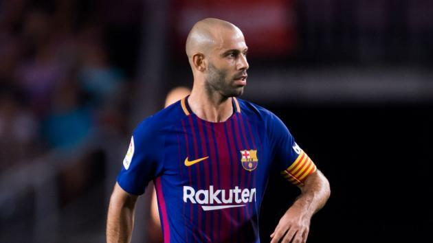 Mascherano considering Barcelona future after falling behind 'better' players