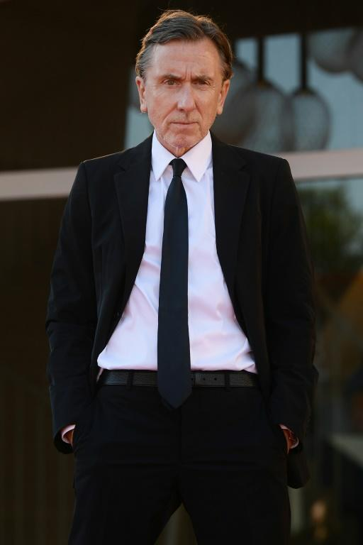 Tarantino regular Tim Roth stars in another film in competition, 'Sundown', by Mexico's Michel Franco (AFP/Filippo MONTEFORTE)