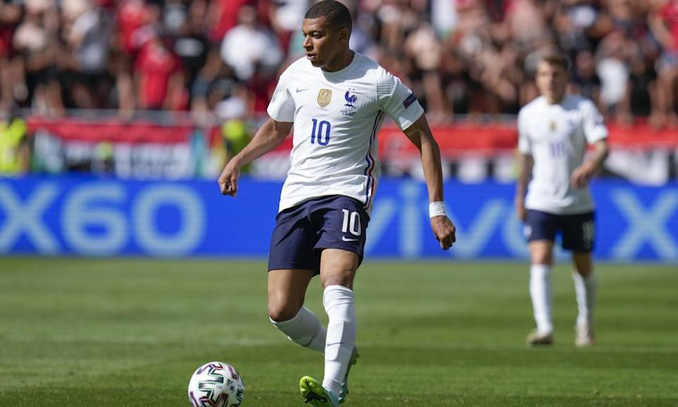 France's Kylian Mbappé is yet to score at Euro 2020 but has produced flashes of brilliance.