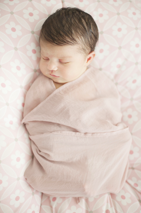To swaddle or not to swaddle? [Photo: Rex]