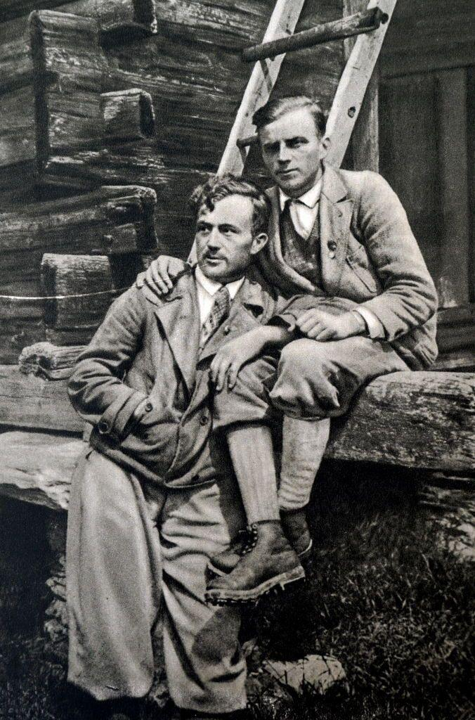 <p>In 1932, German brothers Franz and Toni Schmid were given the Olympic Alpine Prize in recognition of their athletic feat of ascending the north face of the Matterhorn, a treacherous climb in the Alps.</p>