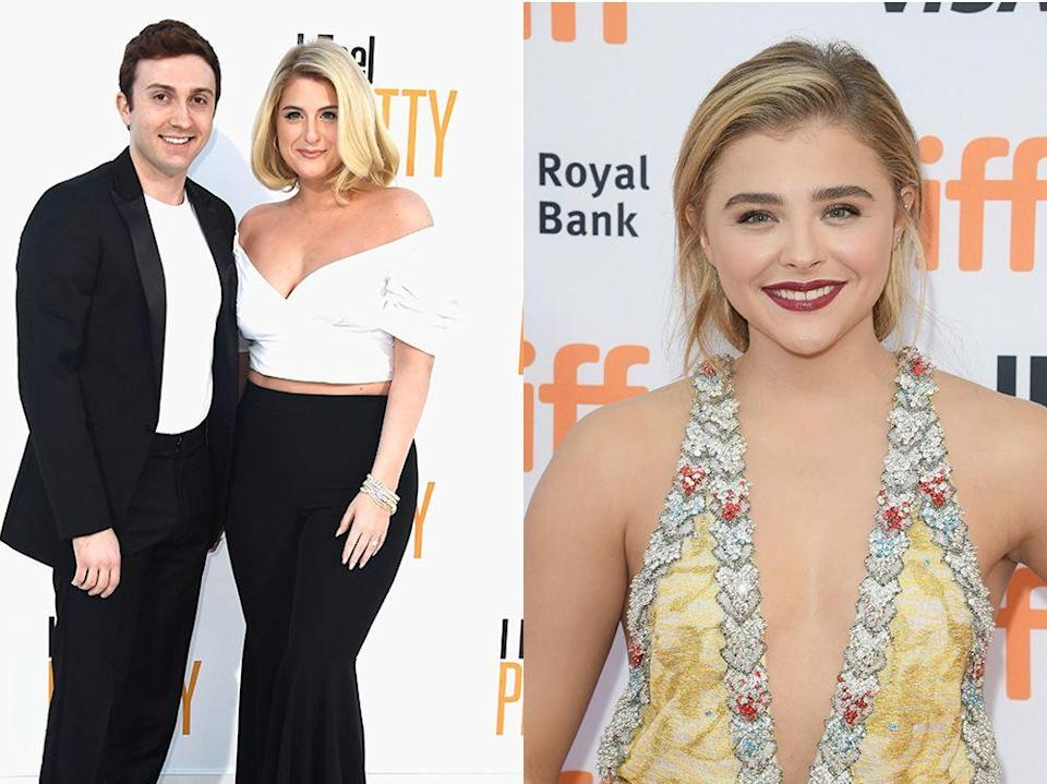 """<p>Megan revealed on <a href=""""https://people.com/music/meghan-trainor-boyfriend-daryl-sabara-introduced-by-chloe-grace-moretz/"""" rel=""""nofollow noopener"""" target=""""_blank"""" data-ylk=""""slk:Chelsea Handler's Netflix show,"""" class=""""link rapid-noclick-resp"""">Chelsea Handler's Netflix show,</a> """"I asked every person I met since day one, 'Find me a boyfriend!' Like, especially new friends too. Chloë Grace Moretz is a friend of mine, and day one of meeting her, I was like, 'You know anybody that I could date? Or love? Whatever,'"""" Trainor recalled. """"And she's like, 'I know the nicest guy in the world, Daryl, and you should meet him.' I was like, 'Daryl? Okay.'""""</p>"""