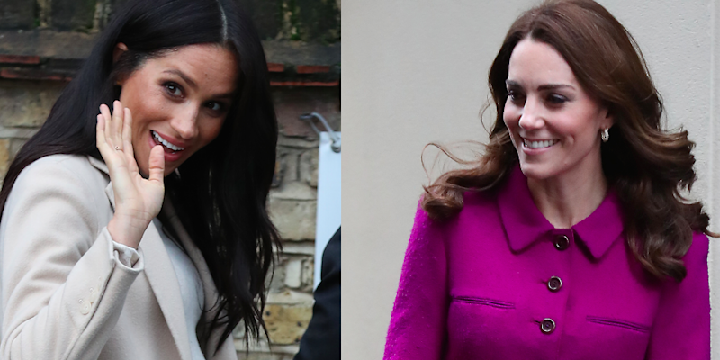 39a3f82f22aa Meghan and Kate Had Twinning Royal Engagements Today