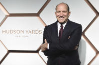FILE - In this Thursday, March 14, 2019 file photo, Cantor Fitzgerald CEO Howard Lutnick attends the grand opening of the Shops & Restaurants at Hudson Yards in New York. Lutnick's Cantor-Fitzgerald Relief Fund for his company's victims from the Sept. 11, 2001 attacks has disbursed more than a quarter of a billion dollars, including money for other victims of terrorism and disasters. (Photo by Evan Agostini/Invision/AP, File)