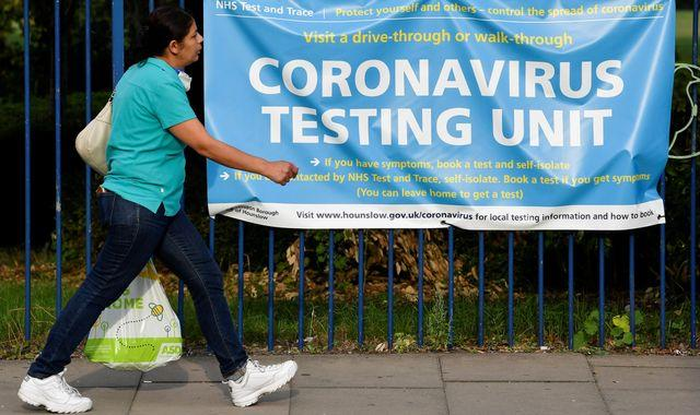 Coronavirus cases could reach 49,000 a day within weeks unless infection rates slow, chief scientific adviser warns