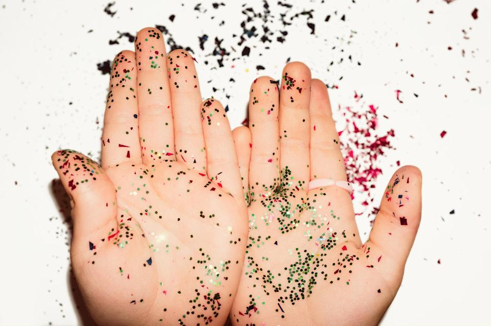 A chain of nurseries in the UK has already banned glitter [Photo: Getty]