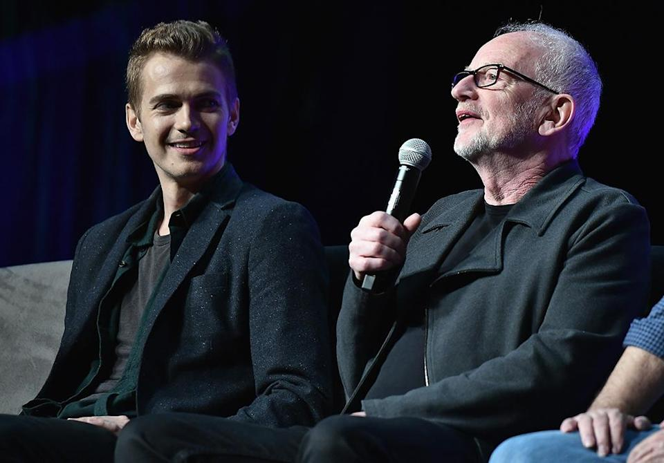 <p>Hayden Christensen and Ian McDiarmid talked about shooting scenes together for the prequels. (Photo by Gustavo Caballero/Getty Images) </p>