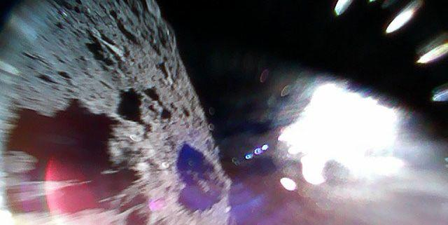 Hayabusa-2's Robotic Rovers Sent The First Images of Asteroid Ryugu