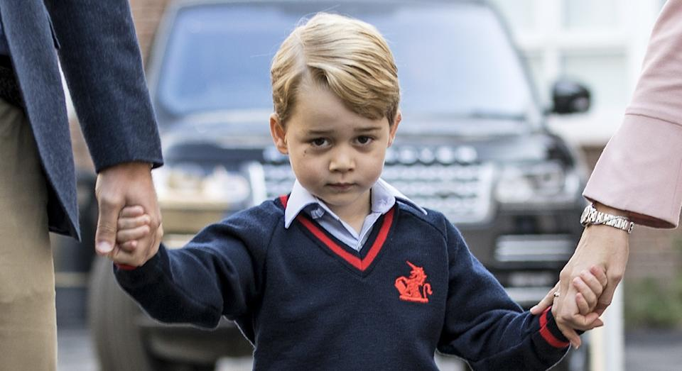 """Prince George has a """"shy"""" and """"serious"""" personality, according to a royal insider [Image: Getty]"""