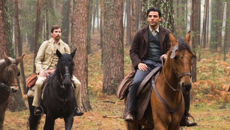 Christian Bale and Oscar Isaac in 'The Promise'