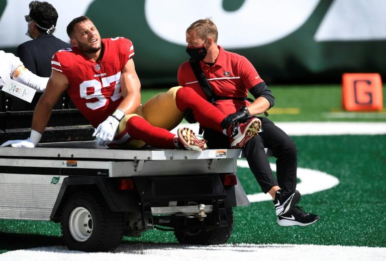 49ers suffer injury blow as Bosa, Thomas ruled out