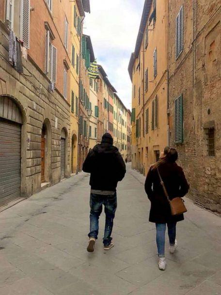 PHOTO: Exploring Siena, Italy with one of our Tour Directors based out of Florence. (Lexie Carter)