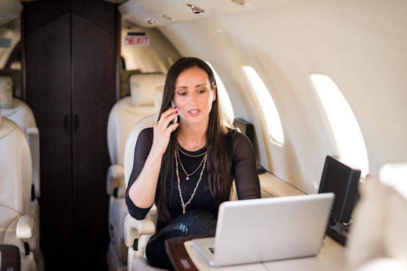The airlines reportedly think people are more likely to bring their own devices onboard and will work harder to improve services like free messaging and faster WiFi. Photo: Getty Images