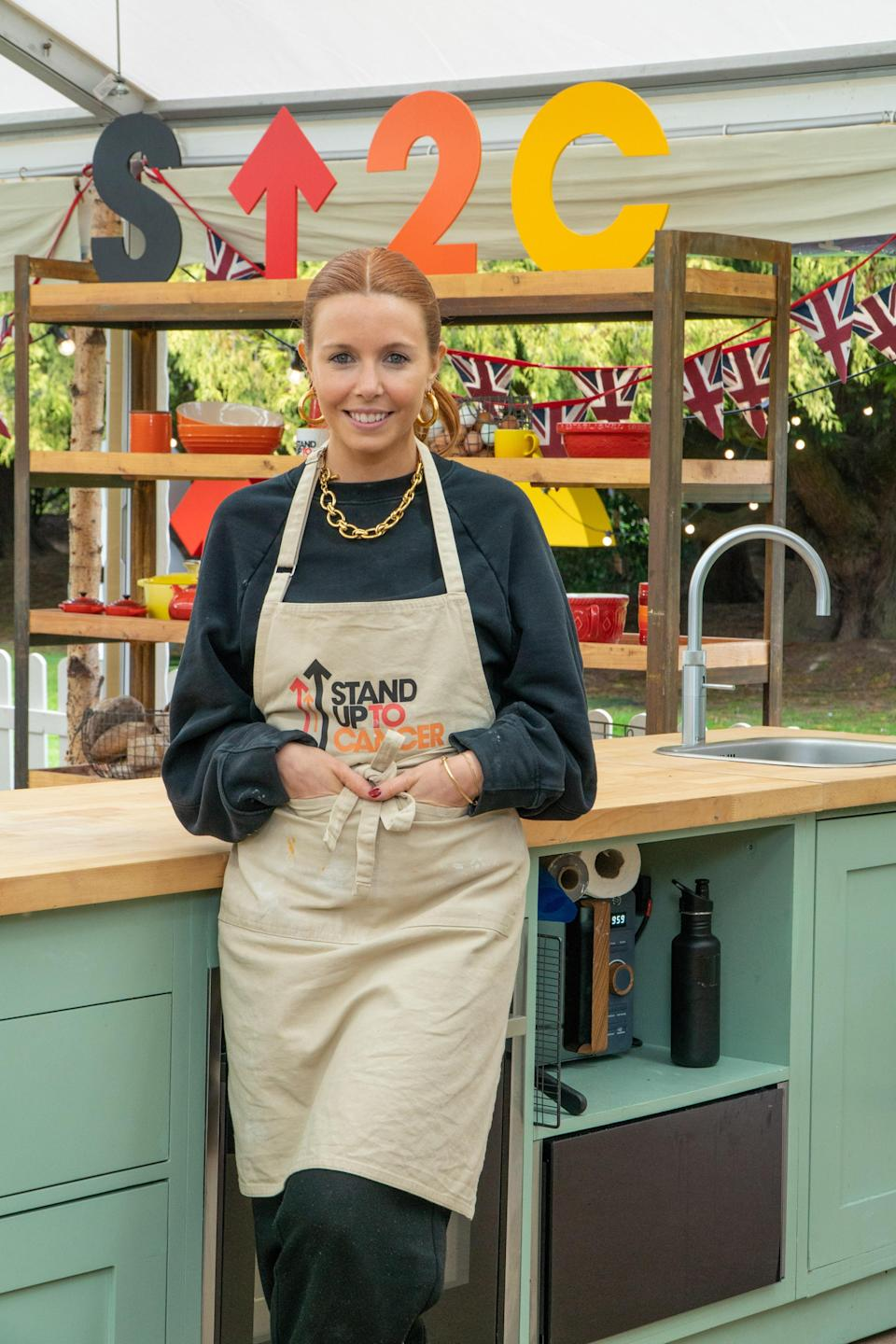 Stacey Dooley will be hoping to bake up a storm (Channel 4/Love Productions)