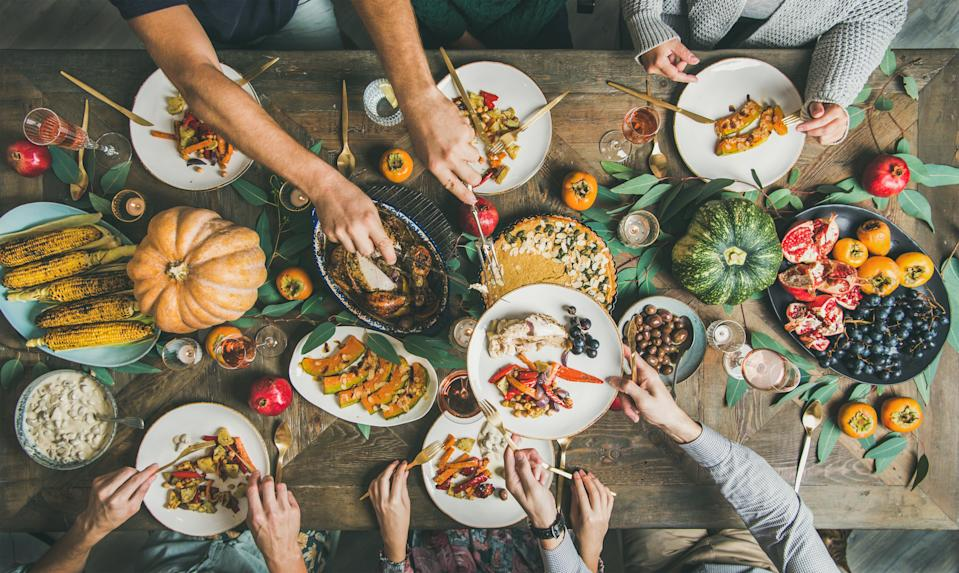 It's important to acknowledge that traditional Thanksgiving foods — including turkey, pumpkins, cranberries, corn, beans and more — have indigenous roots, say experts. (Photo: Getty Images)