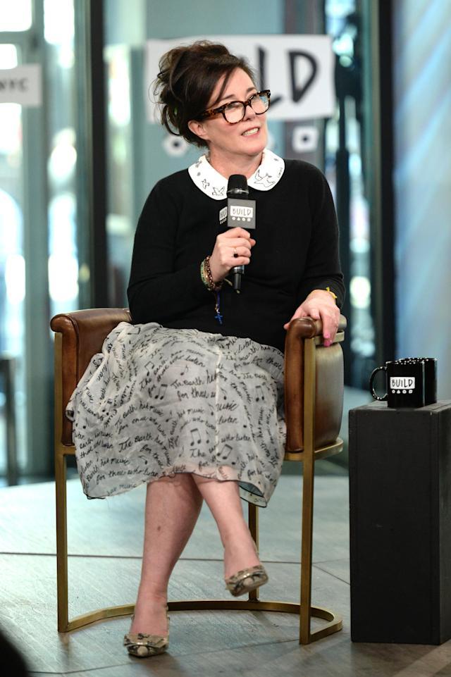 Designer Kate Spade has died by suicide. (Photo: Getty Images)