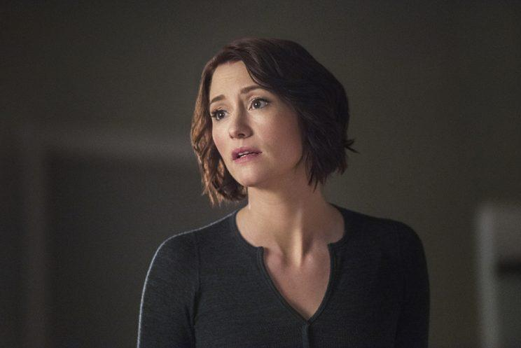 Chyler Leigh as Alex Danvers in The CW's Supergirl. (Photo: Dean Buscher/The CW)