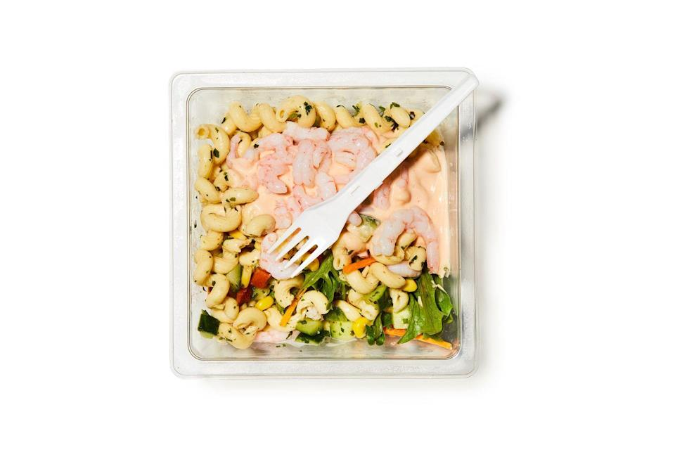 <p>That our grab-and-go lunch culture is fostering bad habits won't come as a surprise. But even the seemingly healthy options can fall short. Strip away the low-nutrient iceberg lettuce and tokenistic carrot shavings and what you're left with is a single-use tub full of croutons and dressing. For £3.99, no less.</p>