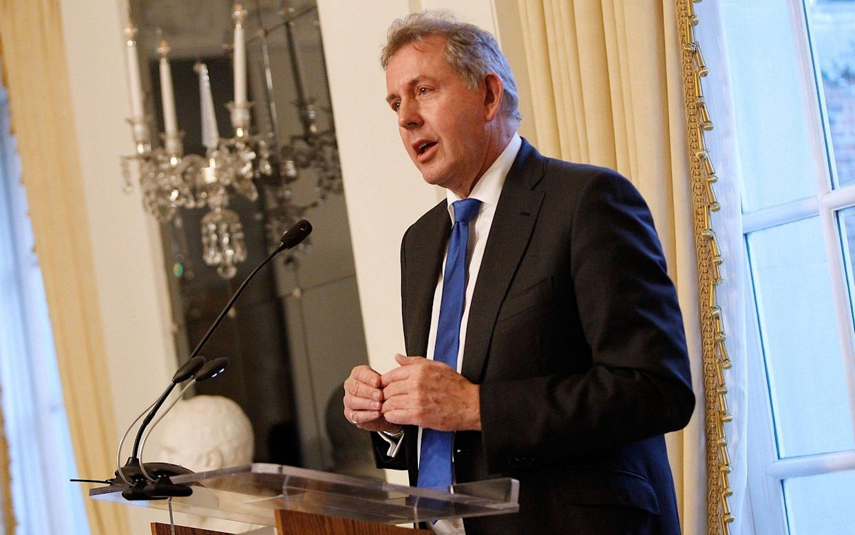 Sir Kim Darroch resigned after sensitive diplomatic emails were leaked - Getty Images North America