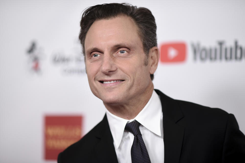 Tony Goldwyn attends the 2017 GLSEN Respect Awards at the Beverly Wilshire Hotel on Friday, Oct. 20, 2017, in Beverly Hills, Calif. (Photo by Richard Shotwell/Invision/AP)