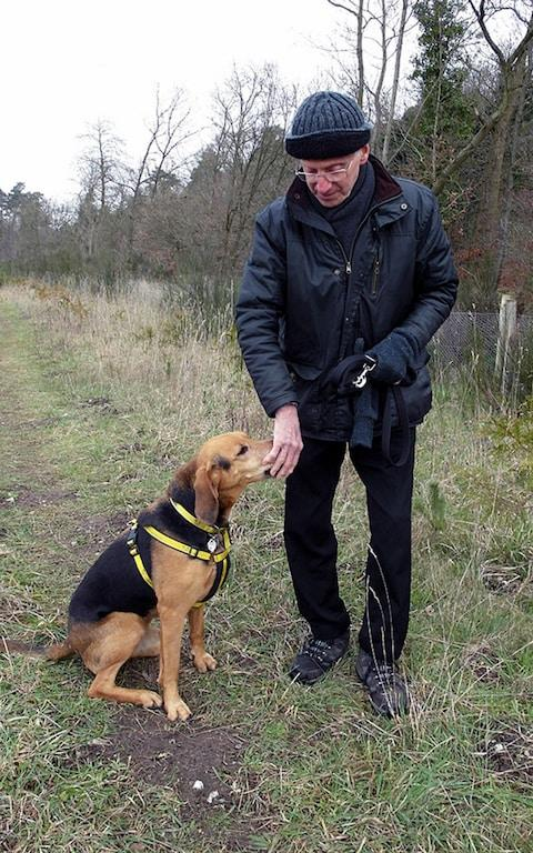 Peter Wrighton was murdered while walking his dog - Credit: PA