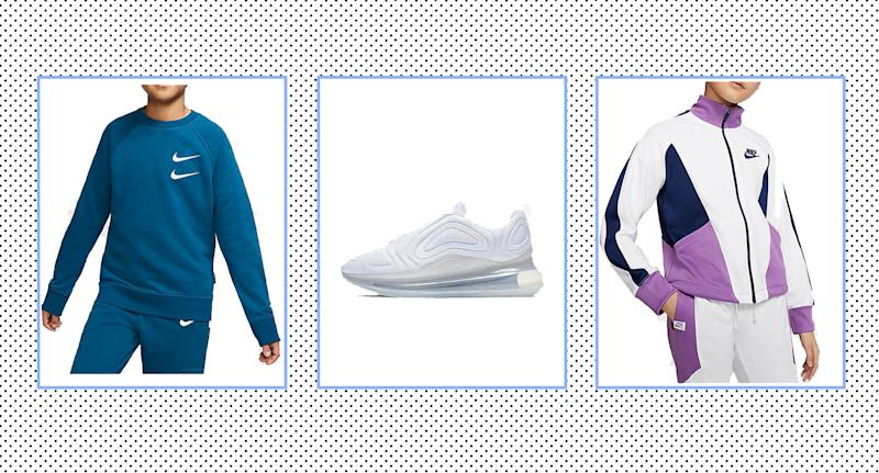 Nike launch sale on kidswear with up to 50% off clothes and trainers. (Nike/ Yahoo Style UK)