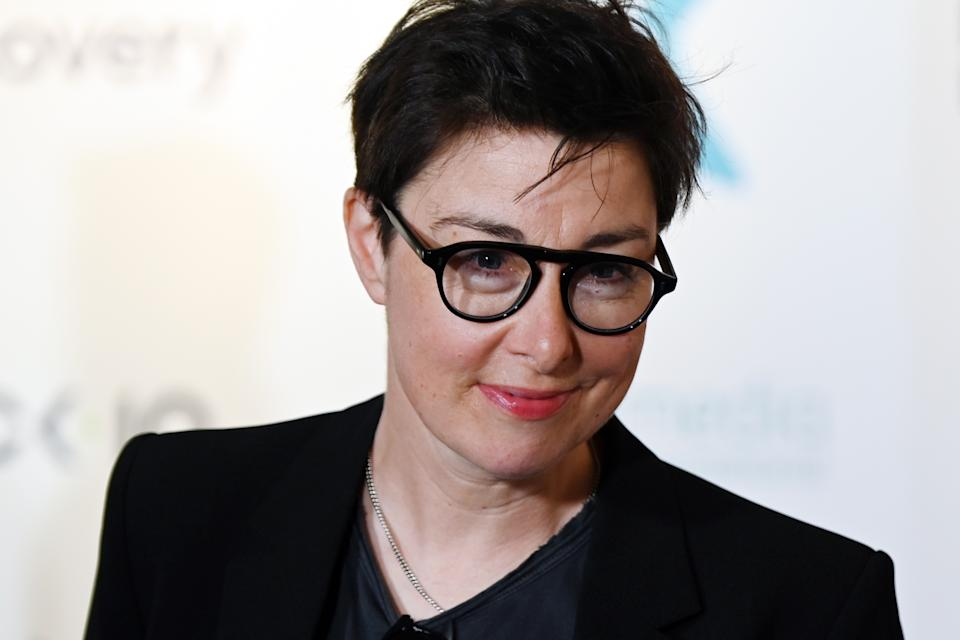 EDINBURGH, SCOTLAND - AUGUST 21: Presenter and Comedian Sue Perkins at the Edinburgh TV Festival on August 21, 2019 in Edinburgh, Scotland. (Photo by Ken Jack/Getty Images)