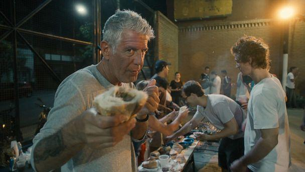 PHOTO: Anthony Bourdain stars in Morgan Neville's documentary, 'Roadrunner: A Film About Anthony Bourdain,' 2021. (CNN/Focus Features)