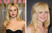 <p><strong>When:</strong> October 23<br>The 19-year-old actress only had to cut in a full fringe to cause a stir.<br><i>[Photo: Getty]</i> </p>