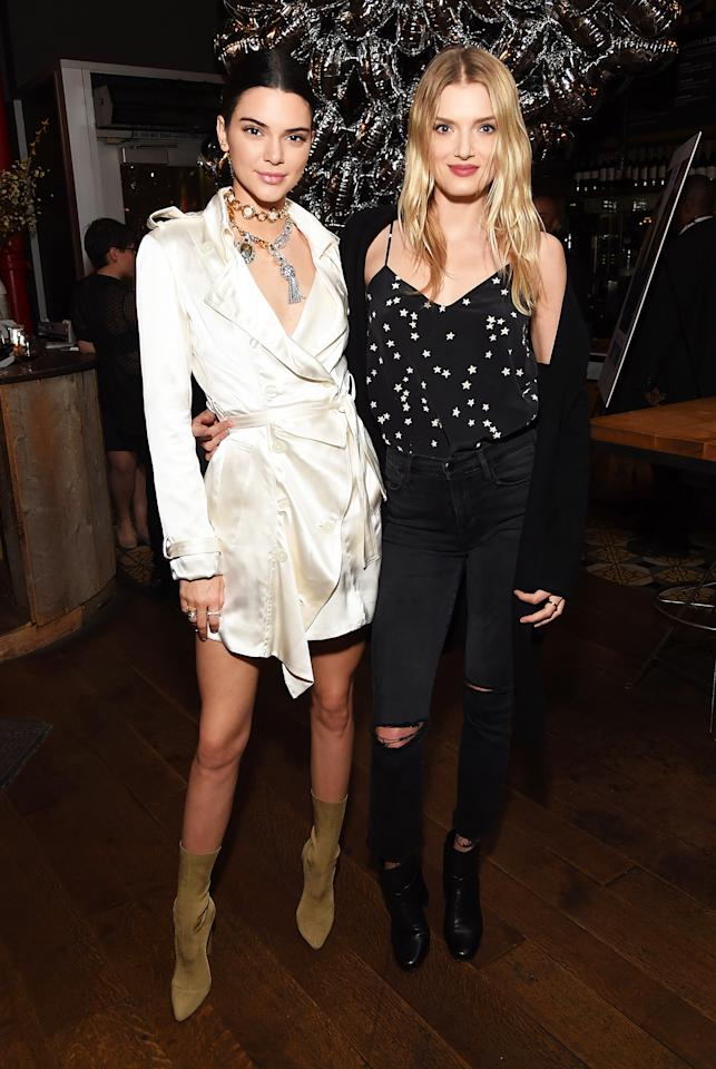 """<h2>With Lily Donaldson</h2>                                                                                                                                                                             <p><p>At the trailer viewing of <em>Valerian and The City of a Thousand Planets</em> in Los Angeles, March 2017</p>                                                                                                                                                                               <h4>Getty Images</h4>                                                                                                                 <p>     <strong>Related Articles</strong>     <ul>         <li><a rel=""""nofollow"""" href=""""http://thezoereport.com/fashion/style-tips/box-of-style-ways-to-wear-cape-trend/?utm_source=yahoo&utm_medium=syndication"""">The Key Styling Piece Your Wardrobe Needs</a></li><li><a rel=""""nofollow"""" href=""""http://thezoereport.com/entertainment/celebrities/jennifer-lopez-leather-outfit/?utm_source=yahoo&utm_medium=syndication"""">Jennifer Lopez Proves That The Only Style Rules To Follow Are Your Own</a></li><li><a rel=""""nofollow"""" href=""""http://thezoereport.com/beauty/makeup/urban-decay-naked-skin-shapeshifter-contouring-palette/?utm_source=yahoo&utm_medium=syndication"""">Urban Decay Is Launching The Next Cult-Favorite Naked Palette And We Want It Badly</a></li>    </ul> </p>"""