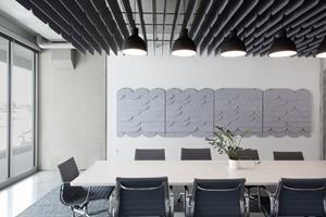 Designed for Loftwall, Tempo acoustic panels earn awards from Fast Company, IDSA, and Core 77