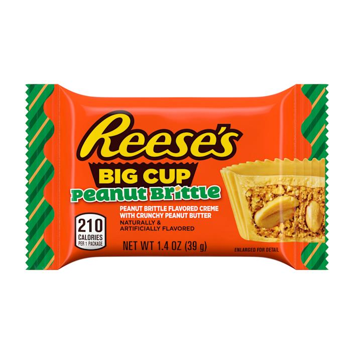 Reese's Peanut Brittle Flavored Cups (Courtesy: Hershey)