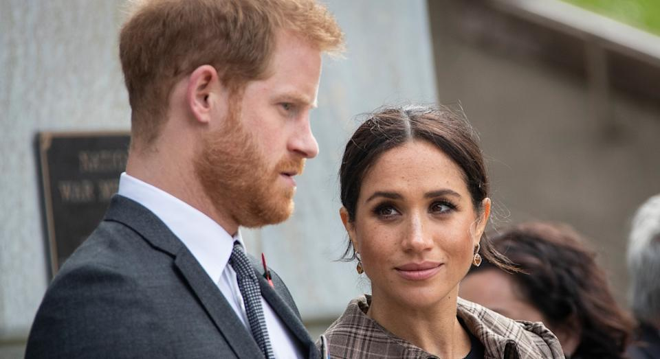 Meghan Markle has revealed how she and Prince Harry supported each other through their miscarriage (Getty)