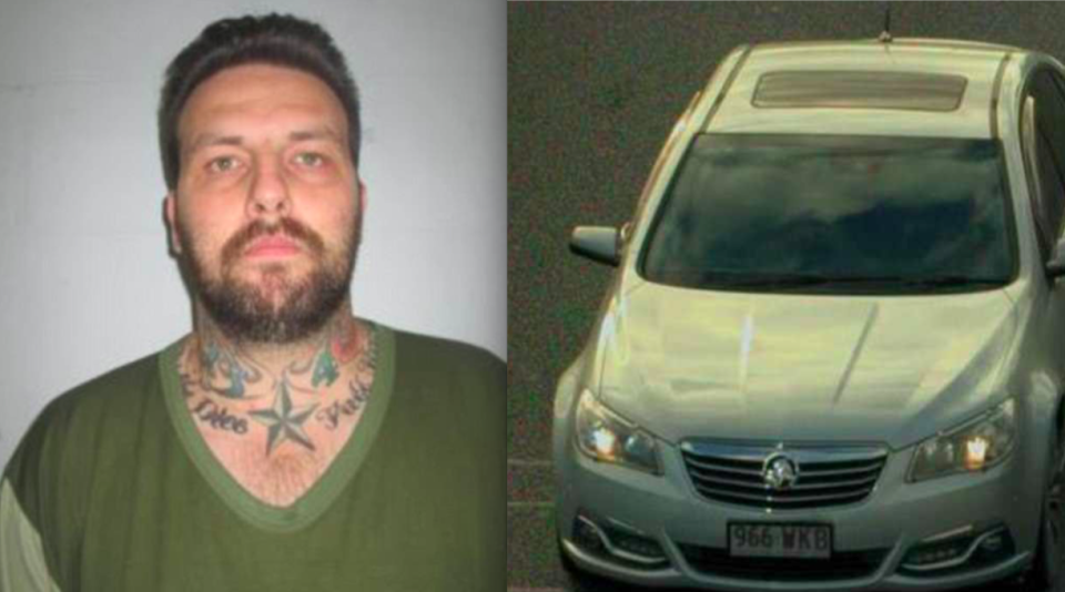 <em>Police in Australia are searching for Zlatko Sikorsky, believed to be driving this Holden Commodore (Police handout)</em>
