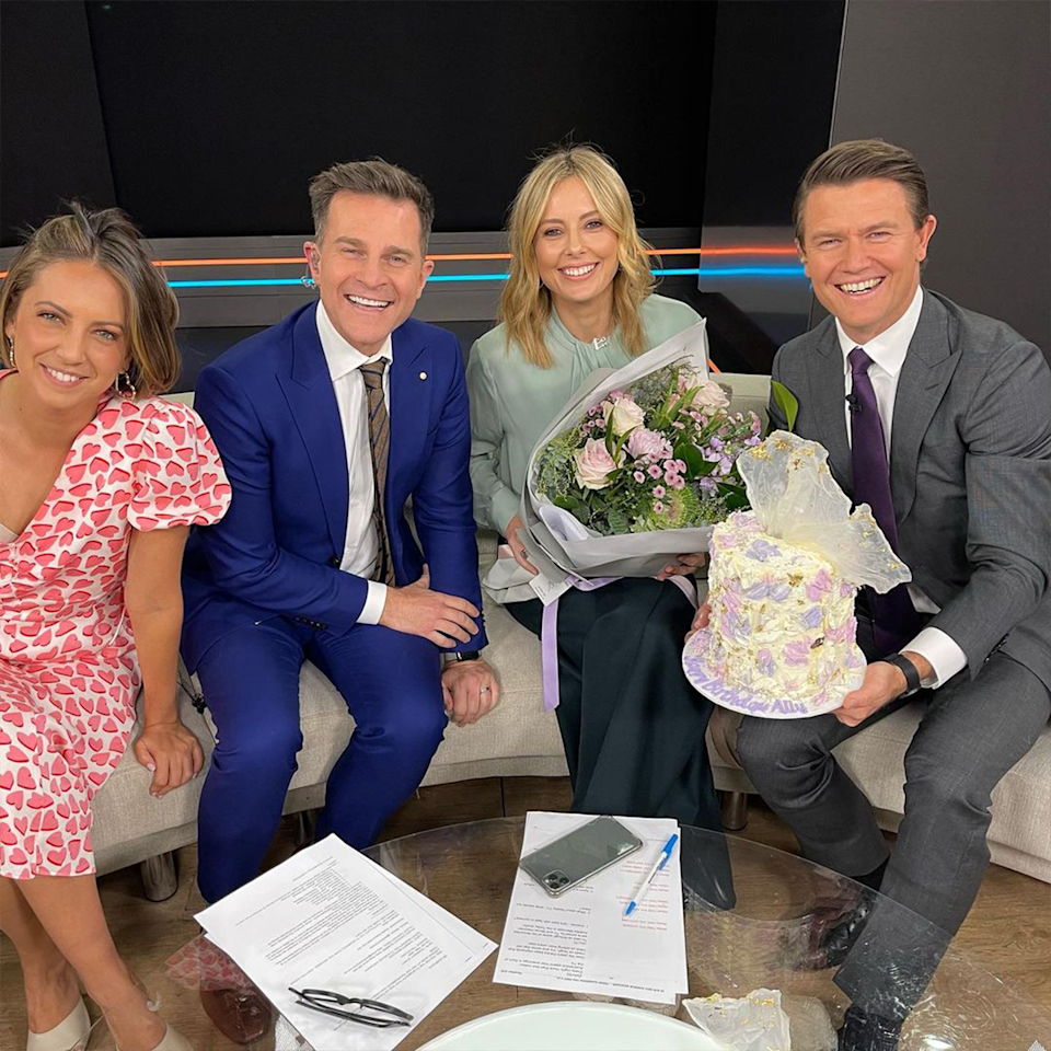 Allison Langdon returned to Today in March after a month off work to recover from her injury. She celebrated her birthday on the show with the team last month.