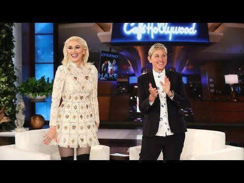 "<p>Gwen goes on <em>Ellen</em> and is put on the spot regarding marriage proposal rumors. Gwen starts by saying Blake got ""sexier. And it just keeps getting better"" after being named <em>People</em>'s 'Sexiest Man on Earth.'</p><p>Gwen did not confirm or deny a proposal, but did say, ""We all love him"" and that she thinks about marriage ""all the time."" </p><p><a href=""https://www.youtube.com/watch?v=qEs9uh9GIPs "" rel=""nofollow noopener"" target=""_blank"" data-ylk=""slk:See the original post on Youtube"" class=""link rapid-noclick-resp"">See the original post on Youtube</a></p>"