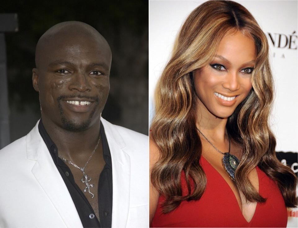 Seal Tyra Banks It Couples From the 90s