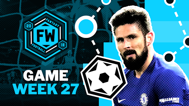 With Antonio Conte without both Alvaro Morata and Michy Batshuayi, will the Italian finally turn to January signing, Olivier Giroud? If he does, that could mean some serious points for fantasy owners. In addition the the French target man, we're tipping Swansea's player of the month and a certain Saint to have a fine couple of weeks in the fantasy spectrum.
