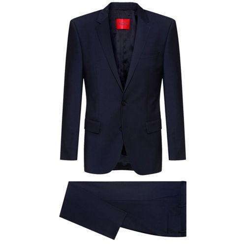 """<p><a class=""""link rapid-noclick-resp"""" href=""""https://go.redirectingat.com?id=127X1599956&url=https%3A%2F%2Fwww.hugoboss.com%2Fuk%2Fslim-fit-suit-in-wool-rich-performance-stretch-cloth%2Fhbeu50450988_405.html%3Fcgid%3D21100%23wrapper&sref=https%3A%2F%2Fwww.menshealth.com%2Fuk%2Fstyle%2Fg35516527%2Fbest-mens-suits-under-500-value-tailoring-menswear%2F"""" rel=""""nofollow noopener"""" target=""""_blank"""" data-ylk=""""slk:SHOP"""">SHOP</a></p><p>Right, get moving, because it's very rare you'll get anything designer for less than £500 – especially a suit. And yet. Hugo, a label that has built an empire on well-structured, fail-safe menswear, has opened the doors to its tailoring section with a slim fit suit that can cater to every single dress code ever.</p><p>Wool-Rich Performance Suit, £389, <a href=""""https://go.redirectingat.com?id=127X1599956&url=https%3A%2F%2Fwww.hugoboss.com%2Fuk%2Fslim-fit-suit-in-wool-rich-performance-stretch-cloth%2Fhbeu50450988_405.html%3Fcgid%3D21100%23wrapper&sref=https%3A%2F%2Fwww.menshealth.com%2Fuk%2Fstyle%2Fg35516527%2Fbest-mens-suits-under-500-value-tailoring-menswear%2F"""" rel=""""nofollow noopener"""" target=""""_blank"""" data-ylk=""""slk:hugoboss.com"""" class=""""link rapid-noclick-resp"""">hugoboss.com</a></p>"""