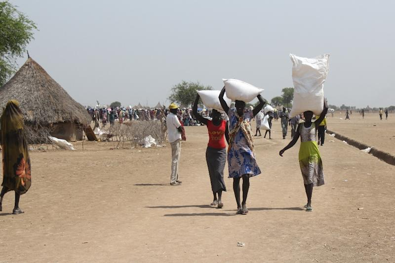 When South Sudan became the world's youngest nation in 2011 many of its people looked to a better future, but that hope has all but evaporated as millions have been left languishing for months on end in squalid and overcrowded camps (AFP Photo/Waakhe Simon Wudu)