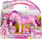 <p>They'll want to dance along with this cute <span>Little Live Pets - Sparkles My Dancing Unicorn</span> ($23). It's pink, cute, and such a fun little figure.</p>