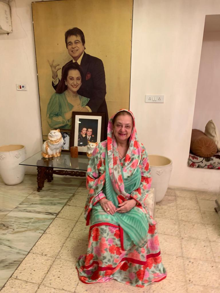 Saira Banu at her home in Pali Hill.