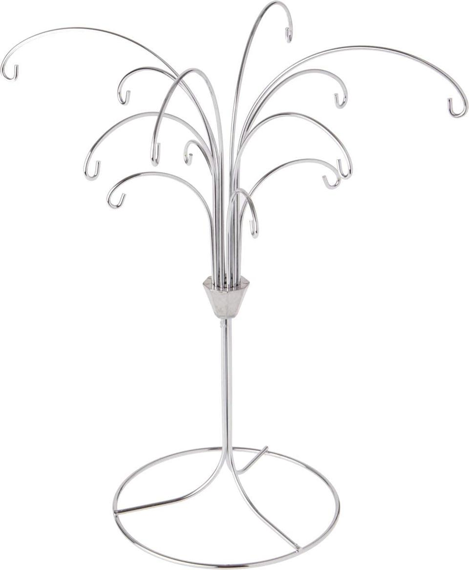 Bard's 12 Arm Silver-Toned Ornament Stand