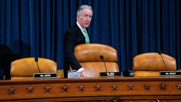 PHOTO: Rep. Richard Neal, Chairman of the House Ways and Means Committee, arrives for a hearing with Steven Mnuchin, in Washington, March 14, 2019. (Bloomberg via Getty Images, FILE)